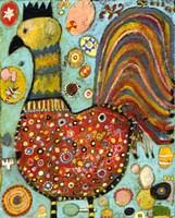Blubs The Chicken Fine Art Print