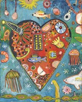 Sea Heart Fine Art Print