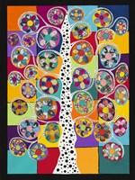 Pinwheel Tree Fine Art Print