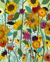 Sunflower House Fine Art Print