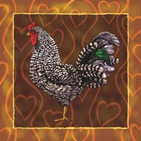 Rooster 3 Fine Art Print