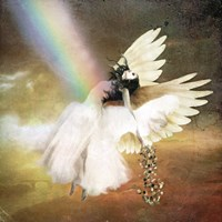 Angel of Gold Fine Art Print