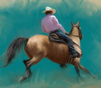 Barrel Racer Fine Art Print