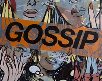 Gossiping Fine Art Print