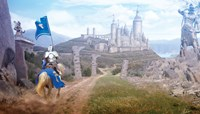 Knights Journey Fine Art Print