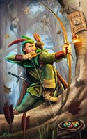 Robin Hood Fine Art Print