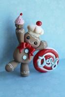 Gingerbread Man 2013 Fine Art Print