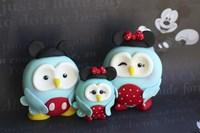 Owl Family Mickey Vacation Fine Art Print