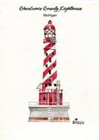Charlevoix County Lighthouse, MI Fine Art Print