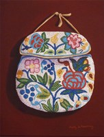 Beaded Pouch Fine Art Print
