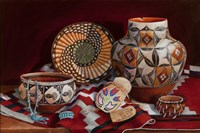 Native American Art Framed Print