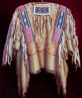 Sacred Raven's War Shirt Fine Art Print