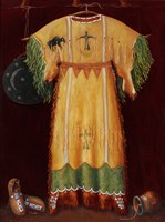 She Wore A Yellow Dress Fine Art Print