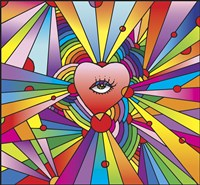 Heart Eye Pop Fine Art Print