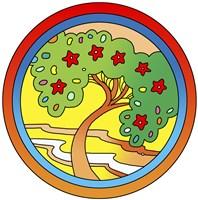 Circle-Tree Fine Art Print