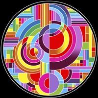 Circles 1 Framed Print