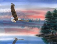 Heartland Eagle Fine Art Print