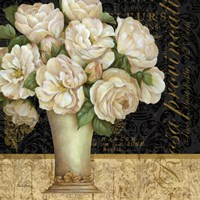 Antique Floral Still Life I Framed Print