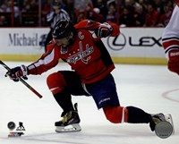 Alex Ovechkin Scores his 50th Goal March 31, 2015 Fine Art Print