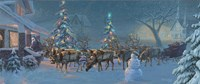 Christmas Travelers 1 Fine Art Print