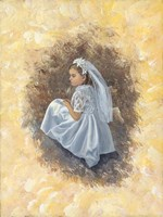 First Communion 1 Fine Art Print