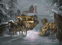 Snow Bound Fine Art Print