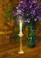 The Candle Fine Art Print