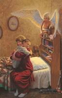 The Cuddling Angel Fine Art Print