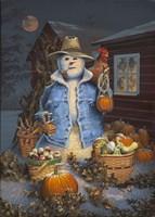 Autumn Gathering Fine Art Print