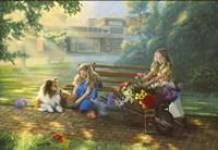 Little Bouquets Fine Art Print