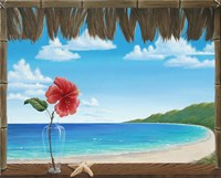 Una Playa Perfecto Fine Art Print