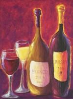 Bianco e Rosso Fine Art Print