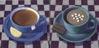 Caffeine Cups 1 Framed Print