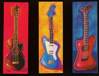 Three Guitars Fine Art Print