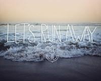 Let's Run Away (Arcadia Beach) Fine Art Print