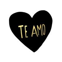 Te Amo Framed Print