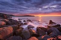 Acadia Rocks Fine Art Print