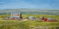 Cypress Hills Farm Fine Art Print