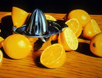 Luscious Lemons Fine Art Print