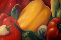 More Peppers Fine Art Print