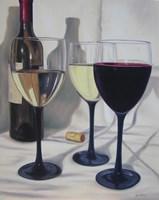 Red or White Fine Art Print