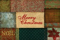 Christmas Patches Fine Art Print