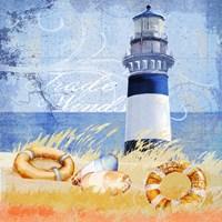 Trade Winds Lighthouse Fine Art Print