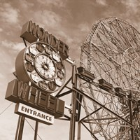 Wonder Wheel Fine Art Print