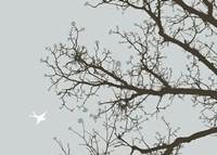 Whimsy Tree Framed Print
