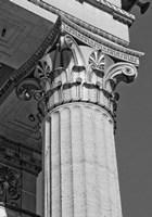 Corinthian Column III Framed Print