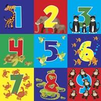 Number Puzzle Fine Art Print