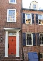 Red Door, Blue Door Fine Art Print
