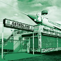 Green Astroland Fine Art Print
