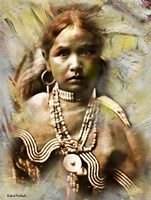 Jicarilla Maiden - Apache Fine Art Print